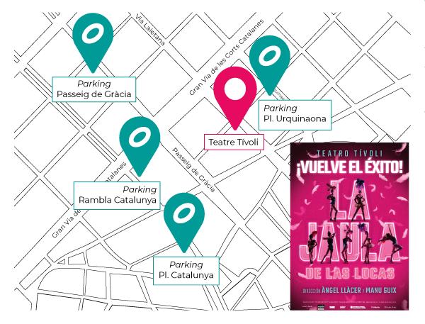 Mapa la Jaula - Regresa el espectáculo 'La Jaula de las Locas'