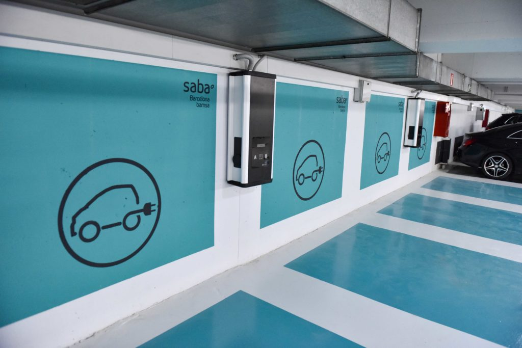 Plazas recarga eléctrica Saba 1024x683 - Cuánto cuesta recargar un coche eléctrico