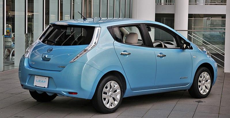 Nissan Leaf - Los 10 coches más fáciles de conducir en ciudad