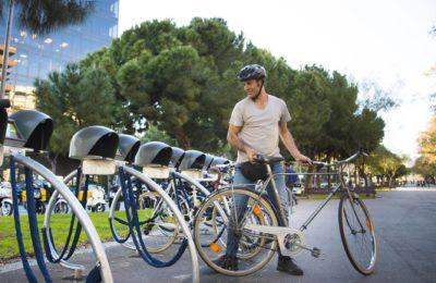 Aparcamiento bicicleta