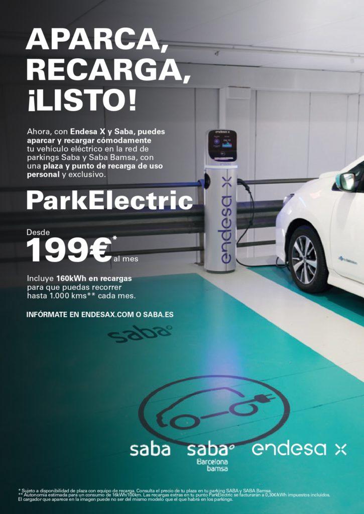 CARTEL PARKELECTRIC A4 002 page 0001 725x1024 - ParkElectric: contrata tu plaza de parking y tu cargador eléctrico en exclusiva