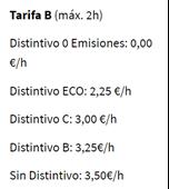 image 3 - Horarios y precios para aparcar en la zona verde y zona azul de Barcelona