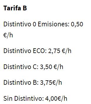 image 6 - Horarios y precios para aparcar en la zona verde y zona azul de Barcelona