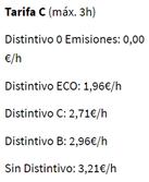 image 7 - Horarios y precios para aparcar en la zona verde y zona azul de Barcelona