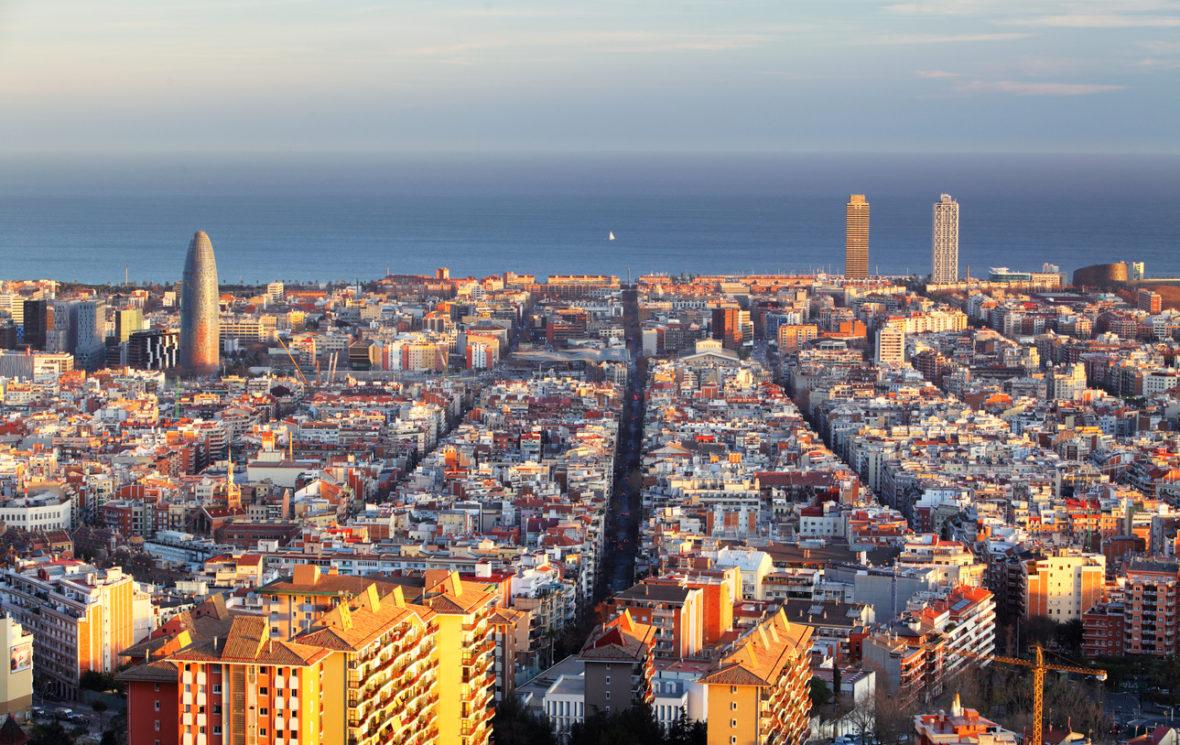 zona azul y zona verde barcelona