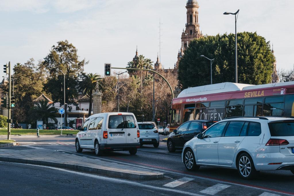 zona azul y verde sevilla 1024x683 - Horarios y precios de zona azul y zona verde en Sevilla