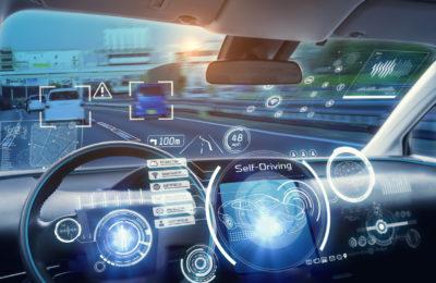 coches que conducen solos