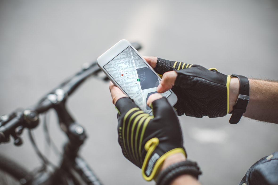 google maps para bicicletas