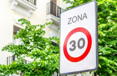 velocidad ciudad 30km/h